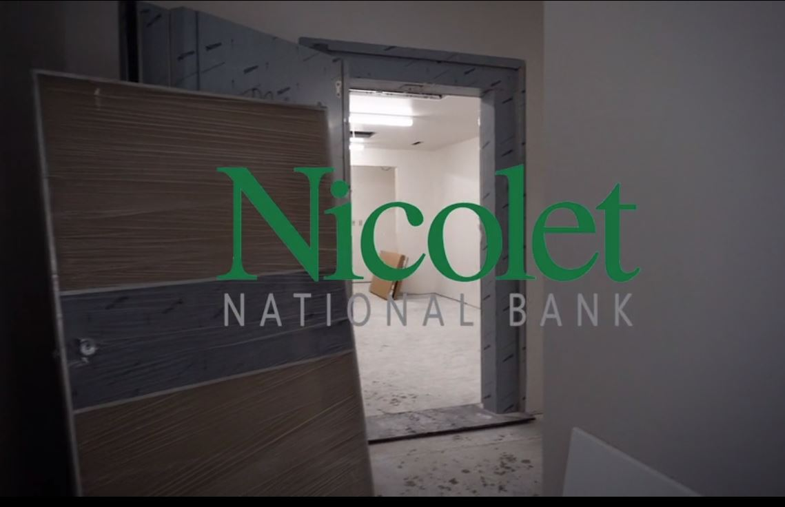 Nicolet National Bank vault construction