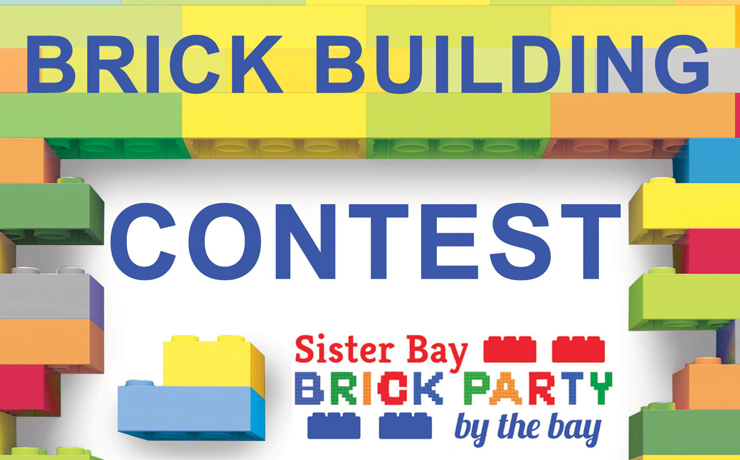 Sister Bay hold Brick Building Contest